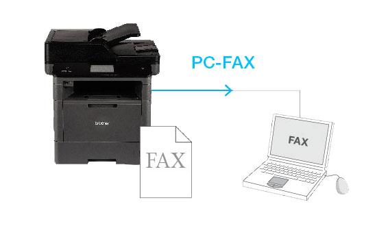 PC-FAX功能